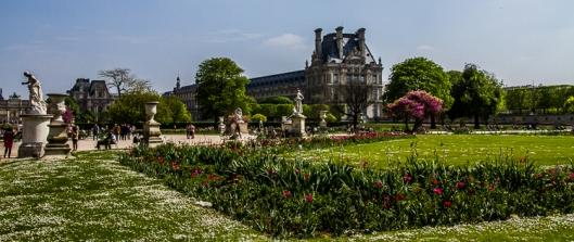 Louvre Palace south side!!