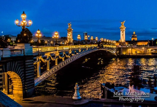 Invalides, Pont Alexandre III and Seine River