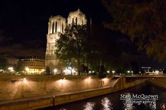 The Seine and Notre Dame!