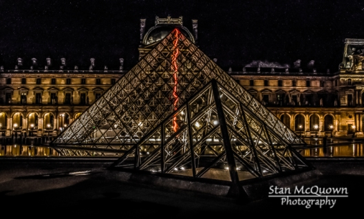 The Pyramide du Louvre!