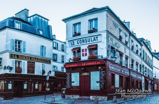 An unobstructed view of La Bonne Franquette & Le Consulat; taverns that Picasso and other artists routinely visited!