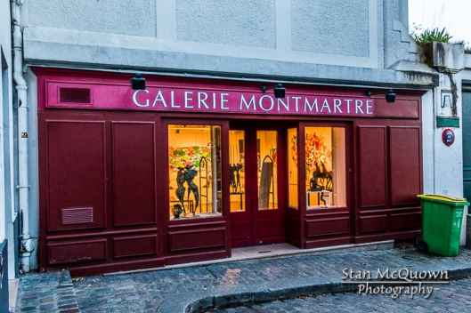 Another day for the Galerie Montmartre!