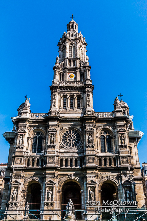 The Église de la Sainte-Trinité or Trinity Church,  a building of the Second Empire period, built between 1861 and 1867 at a cost of almost 5 million francs.