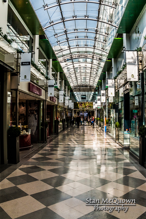 Nothing says shopping mall like a Parisian Passage!